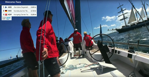 SailTracks onboard cameras during the 2019 Nordstream Race